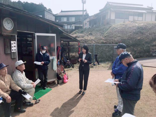 福知山額塚グランドゴルフにお邪魔しました。