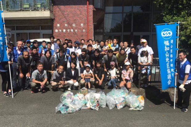連合福知山地域協議会のクリーンキャンペーンに参加しました。