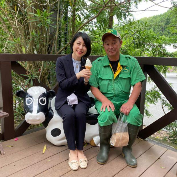 京丹後市網野町の野村牧場さんにご挨拶に行きました。