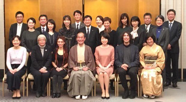 「京の風」の新年会に参加しました。
