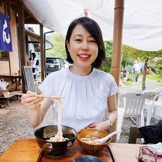 今日は綾部市志賀郷の「竹松うどん」さんでお昼休憩