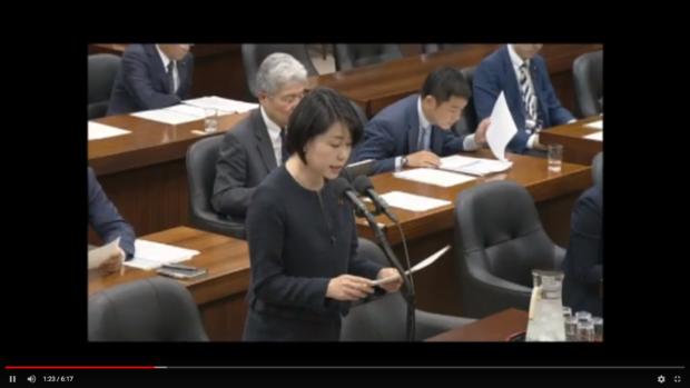 【動画】法務委員会で質問しました。