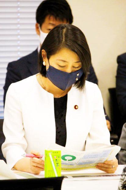 自然災害から国民を守る国会議員の会総会に出席しました。