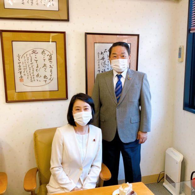 高齢者複合福祉施設の福知山市「にれの木園」さんと 与謝野町「虹ヶ丘」さん、障害者施設「ホームゆめおり」さん