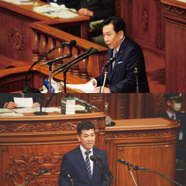衆議院本会議で菅総理の所信表明演説への代表質問が行われました。