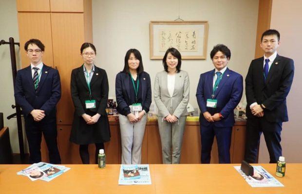 京都から、JEC連合日本新薬労働組合の皆さんが国会事務所に来訪。