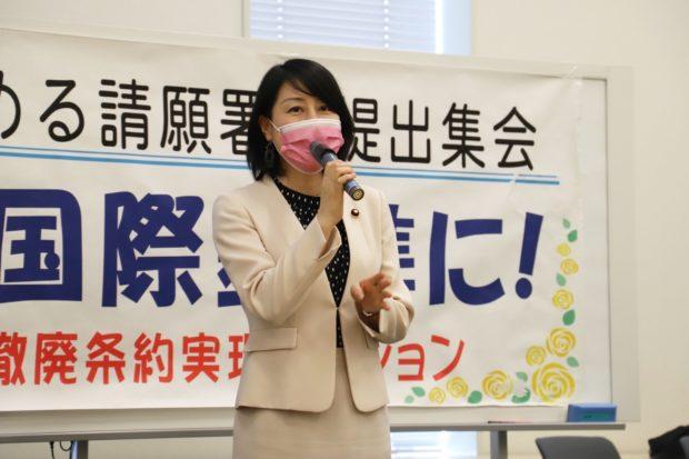 「女性の権利を国際基準に!」院内集会に参加しました。