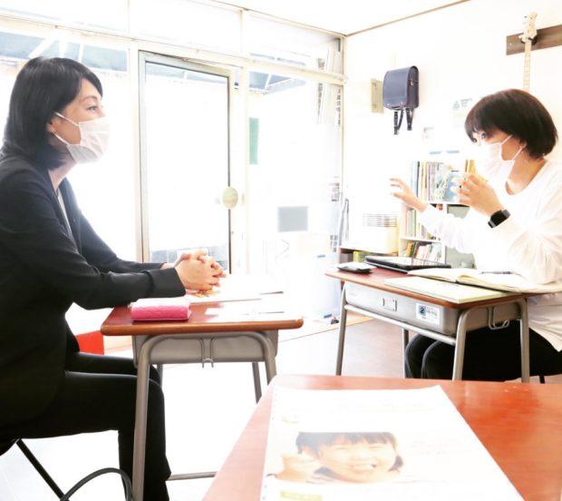 西舞鶴の子ども食堂「青い鳥」にて