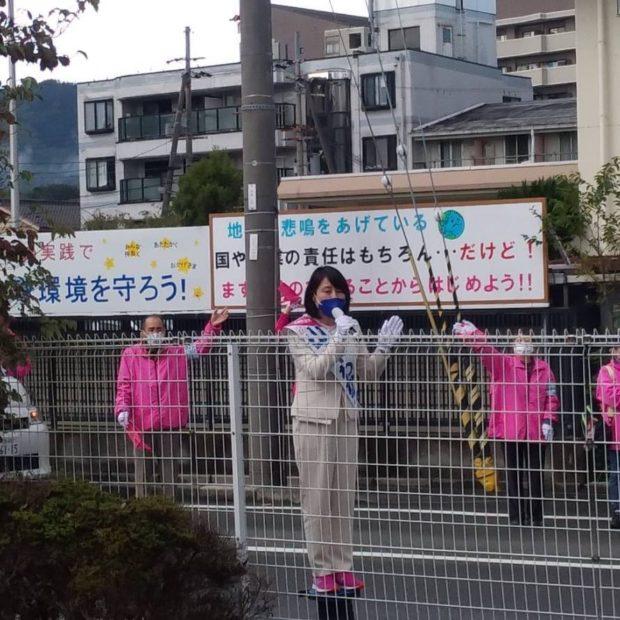 午前中は舞鶴市内を回らせていただいてます。
